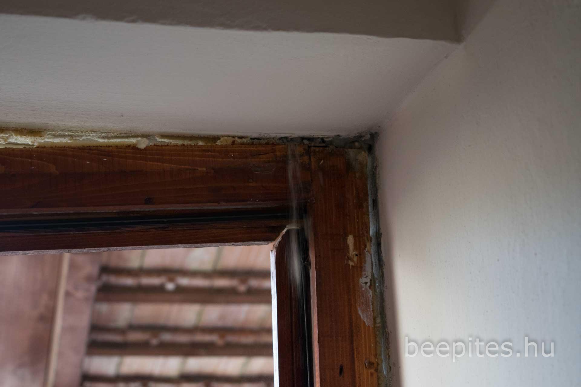 Nyílászáró, ajtó, ablak beépítés NAFA Kft. bontással